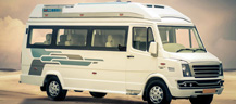 Tempo Traveller Hire in India